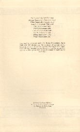 The Return of the King - Deluxe Edition 1964 - Verso of Title Page