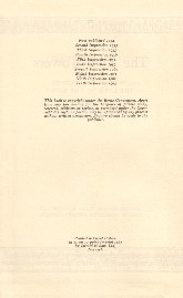 The Two Towers - Deluxe Edition 1964 - Verso of Title Page