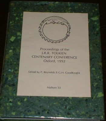 Proceedings of the J.R.R. Centenary Conference 1992