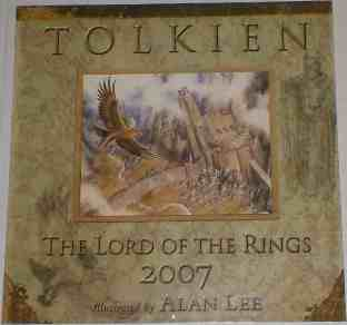Tolkien: The Lord of the Rings 2007 Calendar
