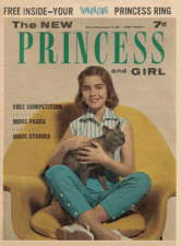 The New Princess and Girl. 10 October 1964