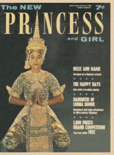 The New Princess and Girl. 17 October 1964