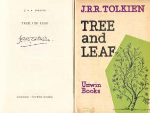 Tree and Leaf. Unwin Books. 1964. PB