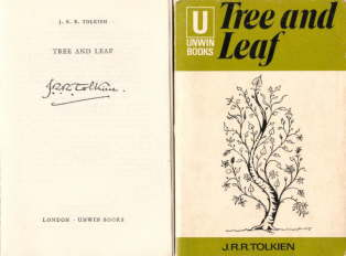 Tree and Leaf. Unwin Books. 1971. PB