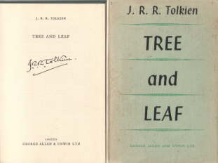 Tree and Leaf. Allen & Unwin. 1964. HB
