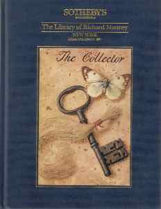 The Library of Richard Manney. 1991. Sotheby's Catalogue