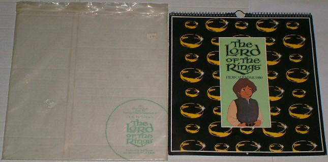 The Lord of the Rings Film Calendar 1980