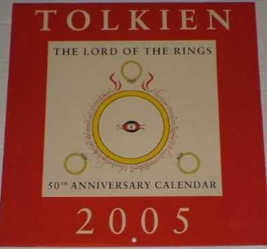 Tolkien 2005: The Lord of the Rings Calendar