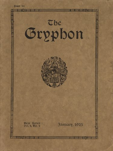 The Gryphon. 1923