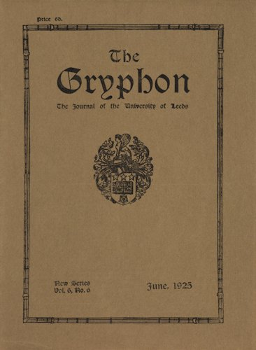 The Gryphon. 1925