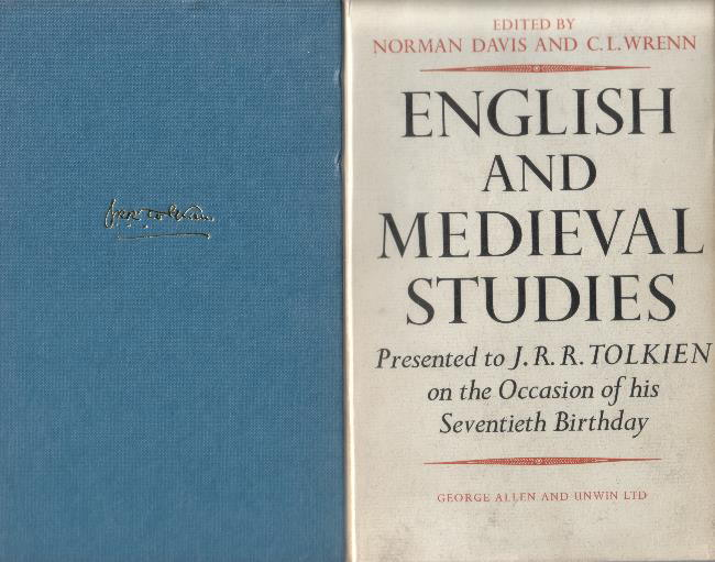 English and Medieval Studies. 1962