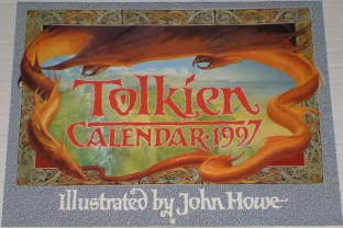 Tolkien Calendar 1997. Issued shrink-wrapped.