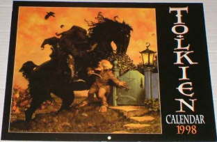 Tolkien Calendar 1998. Issued shrink-wrapped.