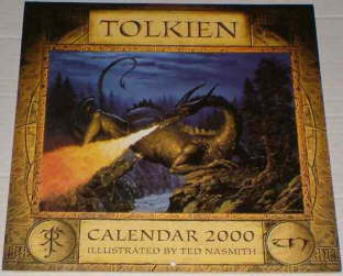 Tolkien Calendar 2000. Issued shrink-wrapped.