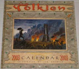 Tolkien Calendar 2003. Issued shrink-wrapped.