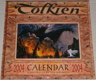 Tolkien Calendar 2004. Issued shrink-wrapped.