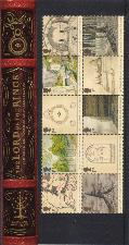 LotR: JRRT � Author and Illustrator. 2004. Set of stamps with notes in a folding wallet.