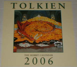 Tolkien 2006 - The Hobbit Calendar. Issued shrink-wrapped.