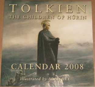 Tolkien Calendar 2008 - The Children of Húrin. Issued shrink-
