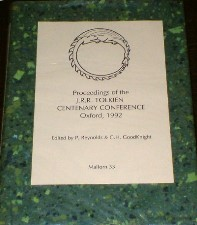 Proceedings of the Centenary Conference. 1995. Hardback in dustwrapper.