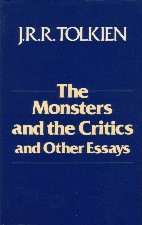 The Monsters and the Critics and Other Essays. 1983. Hardback in dustwrapper.