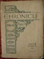 Chronicle. 1934. Magazine.