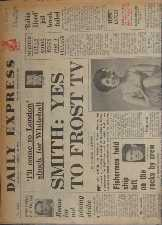 Daily Express. 1966. Newspaper.