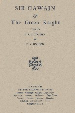 Sir Gawain and the Green Knight. 1925. Hardback in dustwrapper.