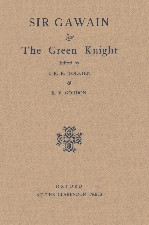 Sir Gawain and the Green Knight. 1930. Hardback in dustwrapper.