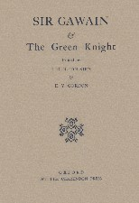 Sir Gawain and the Green Knight. 1946. Hardback in dustwrapper.