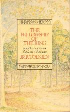 The Fellowship of the Ring. 1987. Hardback in dustwrapper.