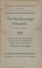 Peterborough Chronicle. 1958. Hardback in dustwrapper.