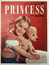Princess and Girl - 7 November. Magazine.