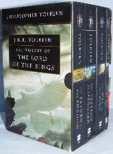 History of the Lord of the Rings. 2002. Paperbacks. Issued in a slipcase.
