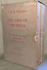 The Lord of the Rings. 1957. Hardbacks. Issued in a slipcase.