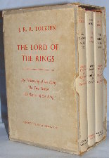 The Lord of the Rings. 1961. Hardbacks. Issued in a slipcase.