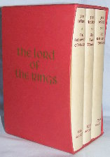 The Lord of the Rings. 1990. Hardbacks. Issued in a slipcase.