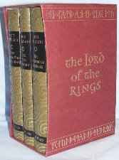 The Lord of the Rings. 1997. Hardbacks. Issued in a slipcase.