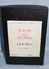 Poems and Stories. 1980. Hardback. Issued in a box.