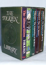 The Tolkien Library. 1978. Hardbacks. Issued in a slipcase.