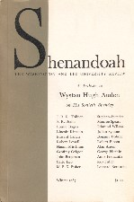 Shenandoah: The Washington and Lee University Review. A Tribute to Wystan Hugh Auden on his Sixtieth Birthday. 1967